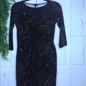 TALBOTS DRESS- length 35 inche…